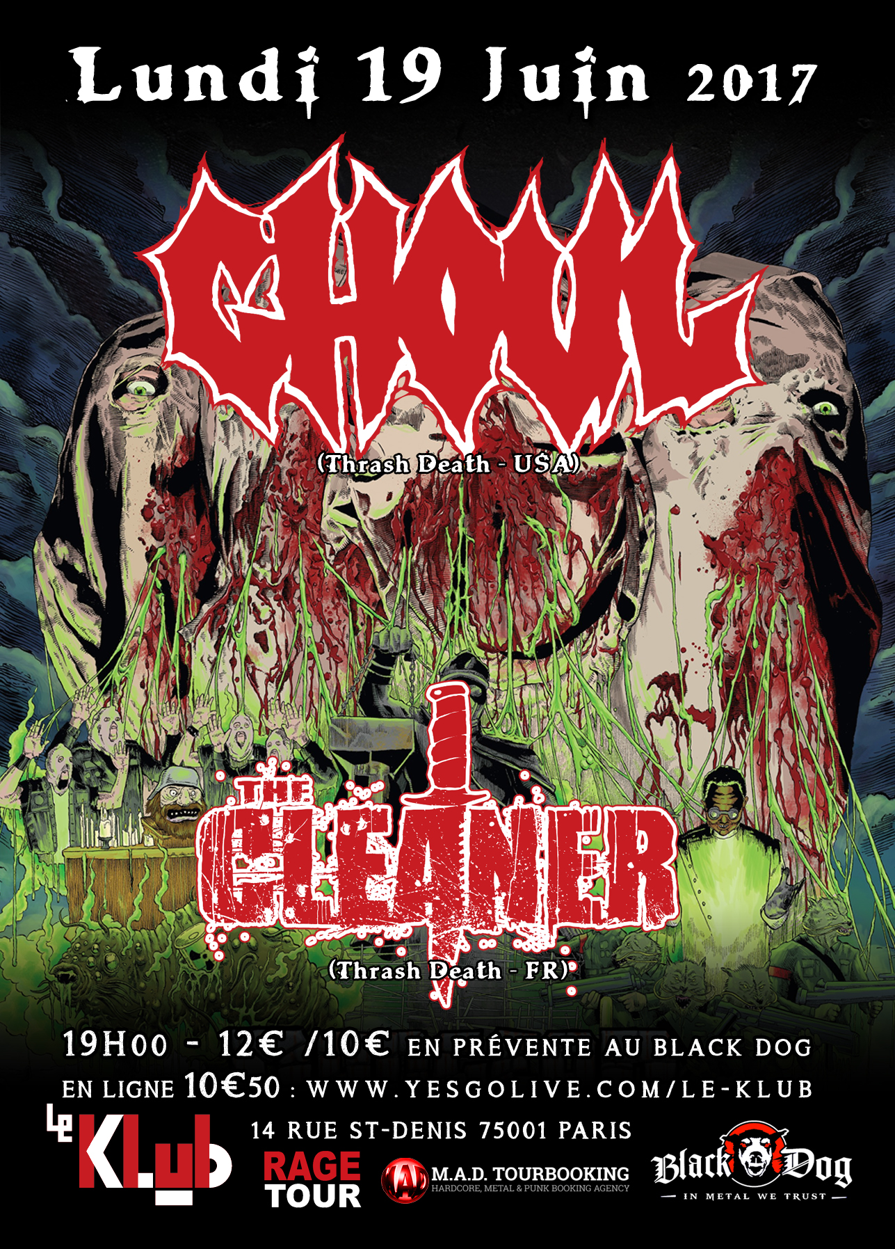 GHOUL + THE CLEANER ■ 19.06