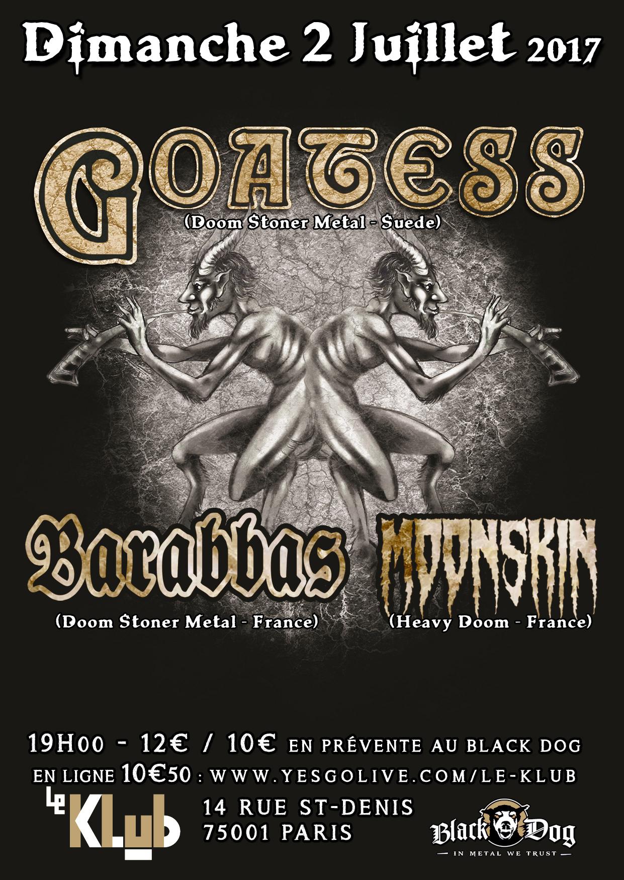 Goatess + Barabbas ■ 02.07