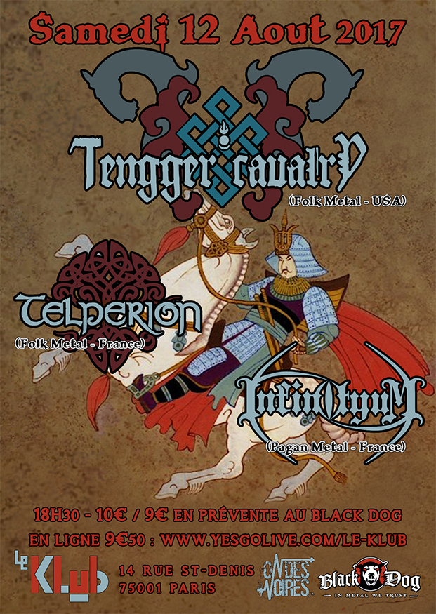 Tengger Cavalery + Telperion + Infinityum ■ 12.08