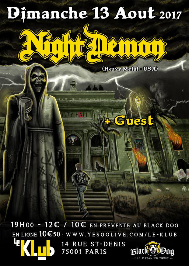 Night Demon + Guest ■ 13.08