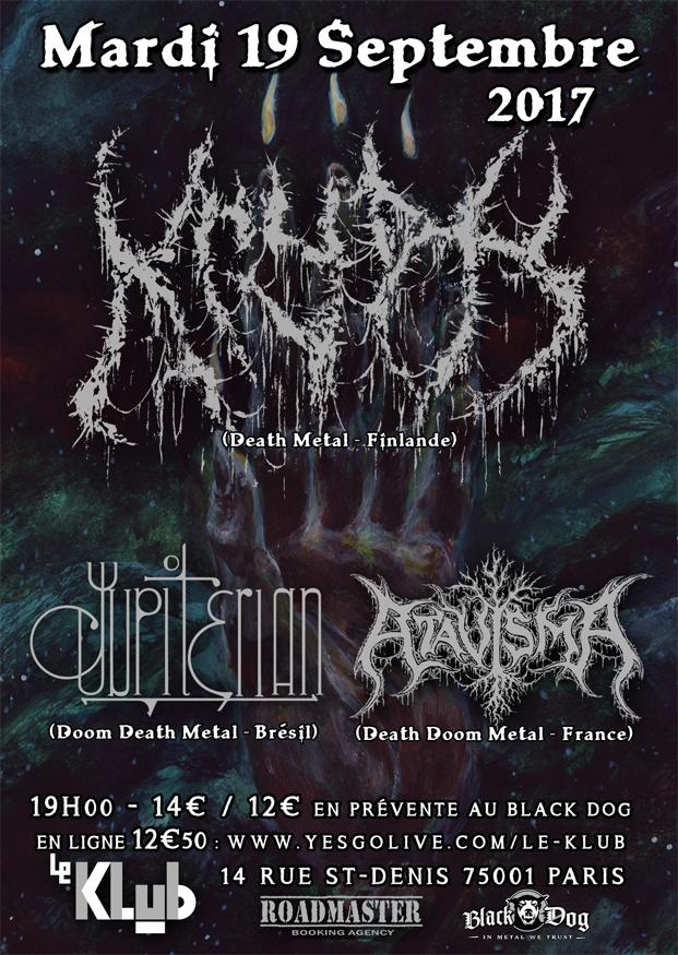 KRYPTS + Jupiterian + Atavisma ■ 19.09