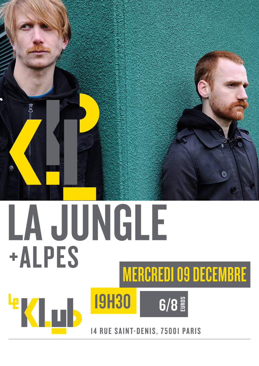 LA JUNGLE ■ LIVE ■ 19H30