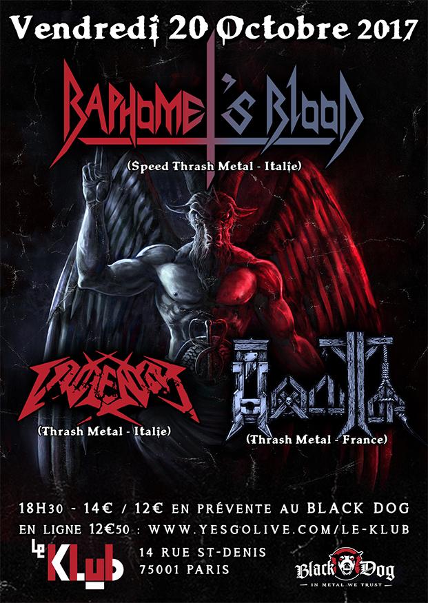 Baphomet's Blood + Violentor + Hexecutor ■ 20.10