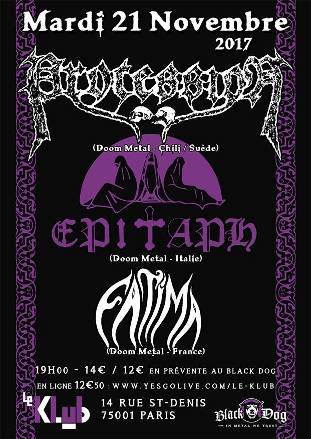 Procession, Epitaph & Fatima ■ 21.11