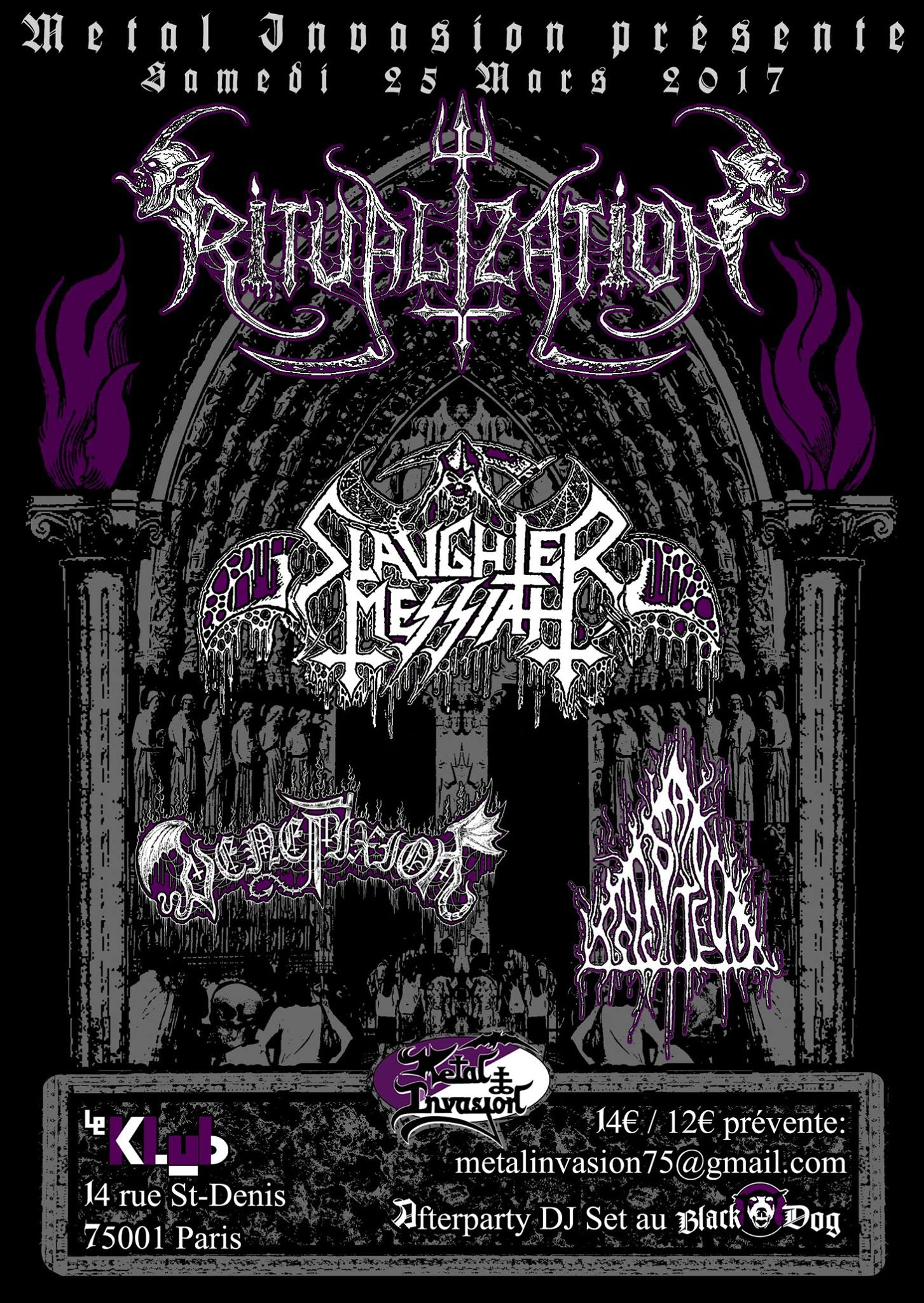 Ritualization ■ Slaughter Messiah ■ Venefixion ■ Psychomanteum ■ 25.03