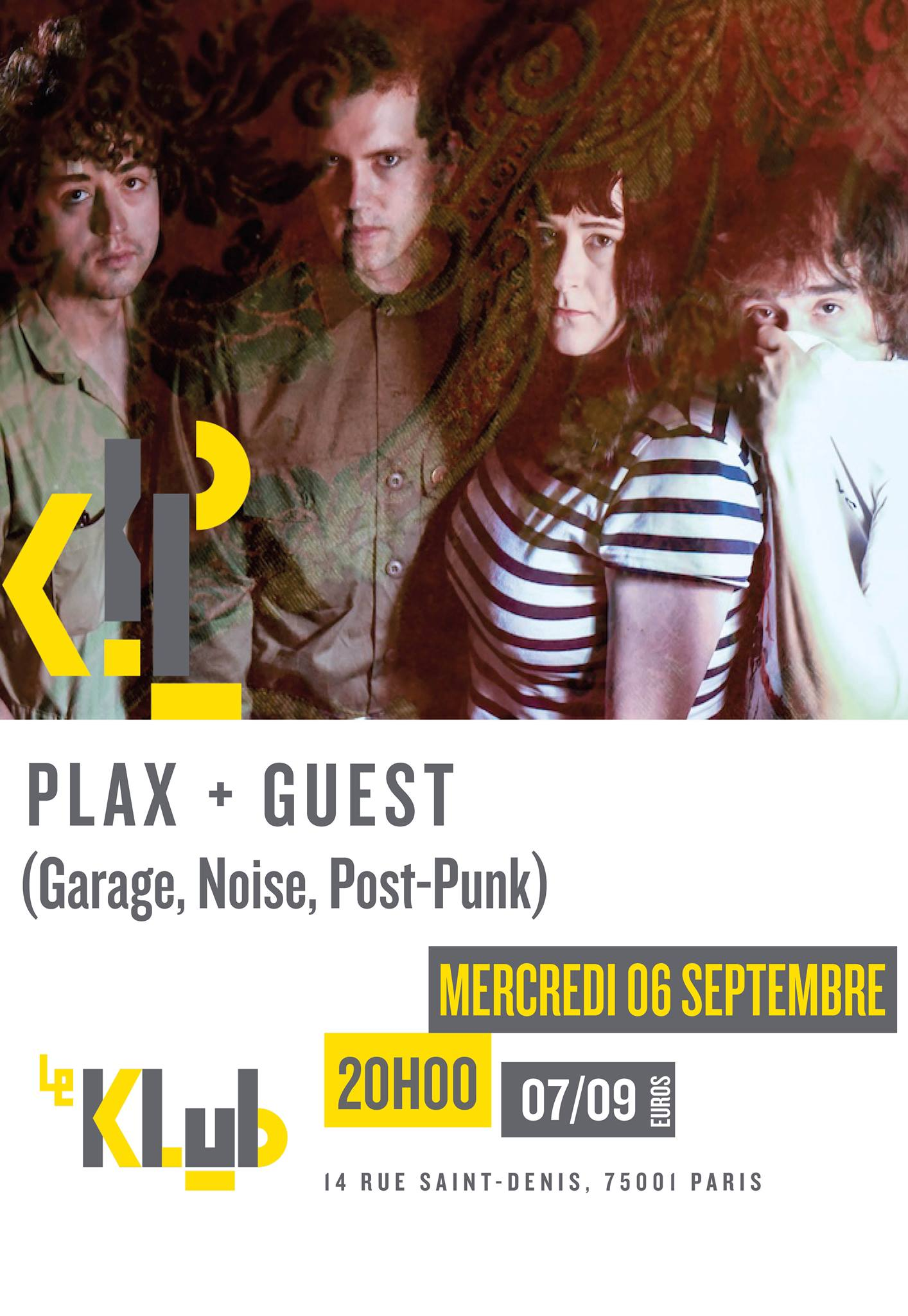PLAX + Guest ■ 06.09
