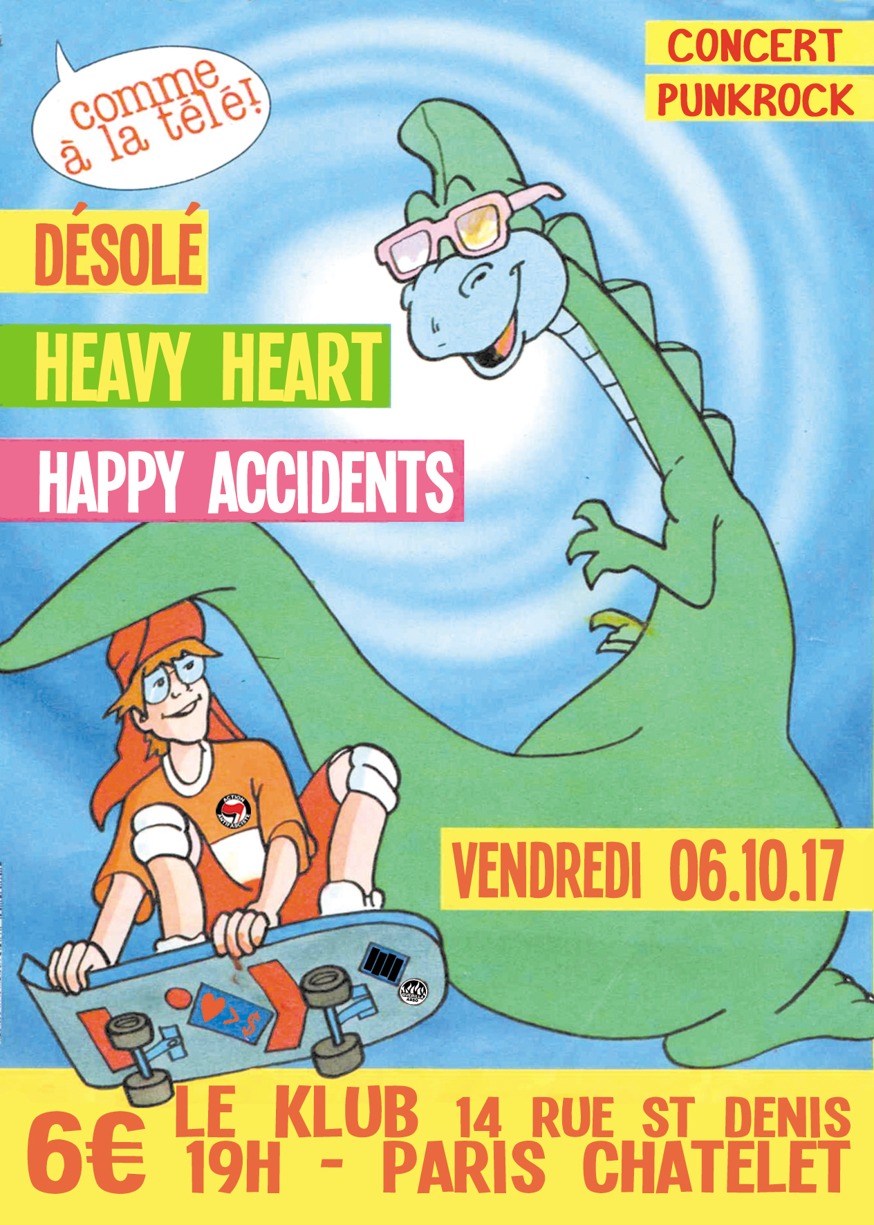 HEAVY HEART + HAPPY ACCIDENTS + DESOLE ■ 06.10