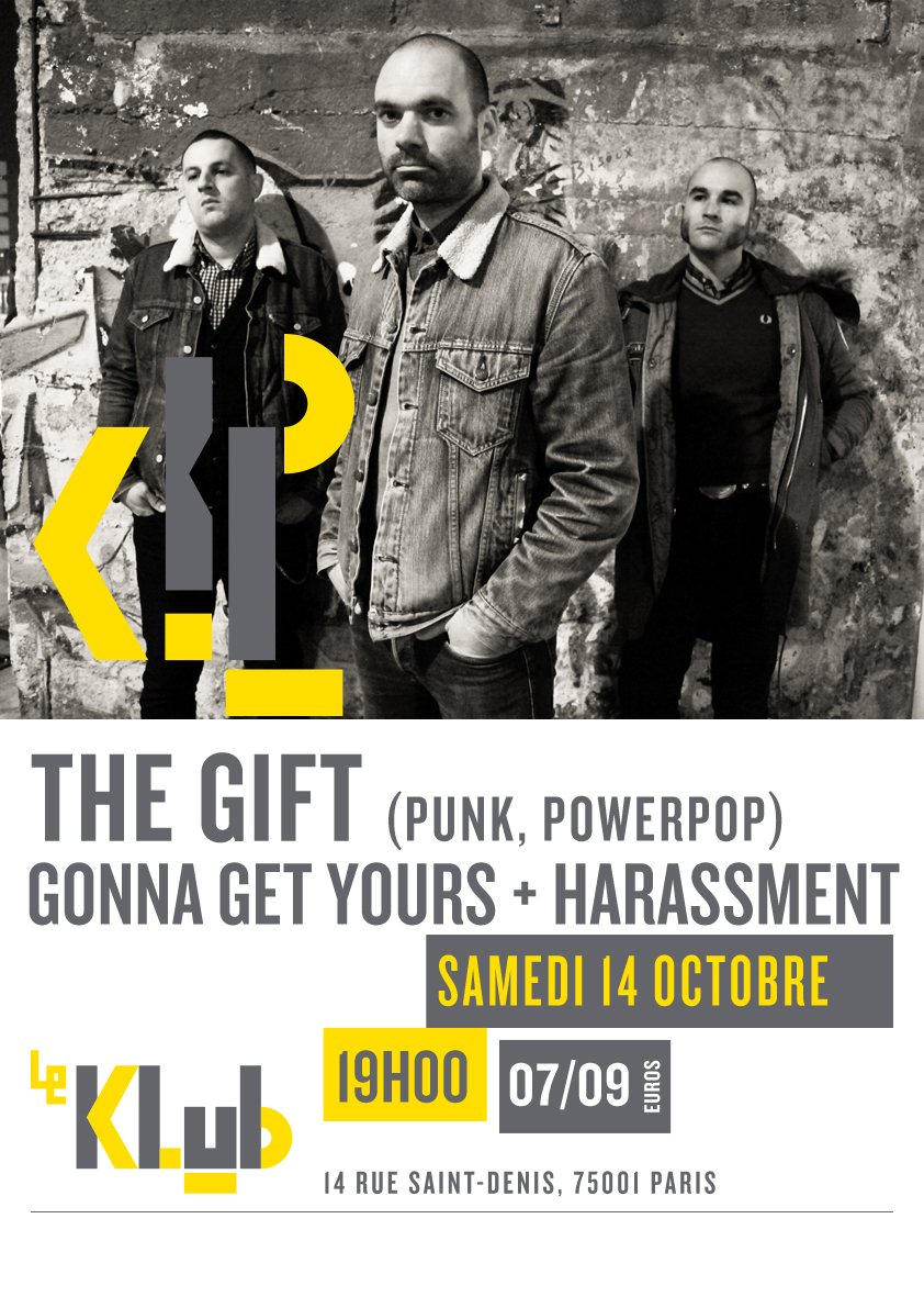 THE GIFT + GONNA GET YOURS + HARASSMENT ■ 14.10