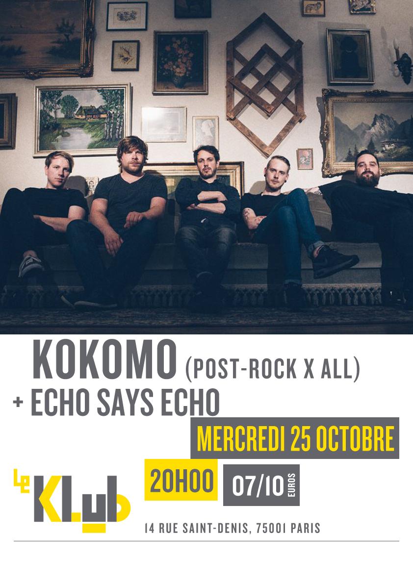 KOKOMO + ECHO SAYS ECHO ■ 25.10