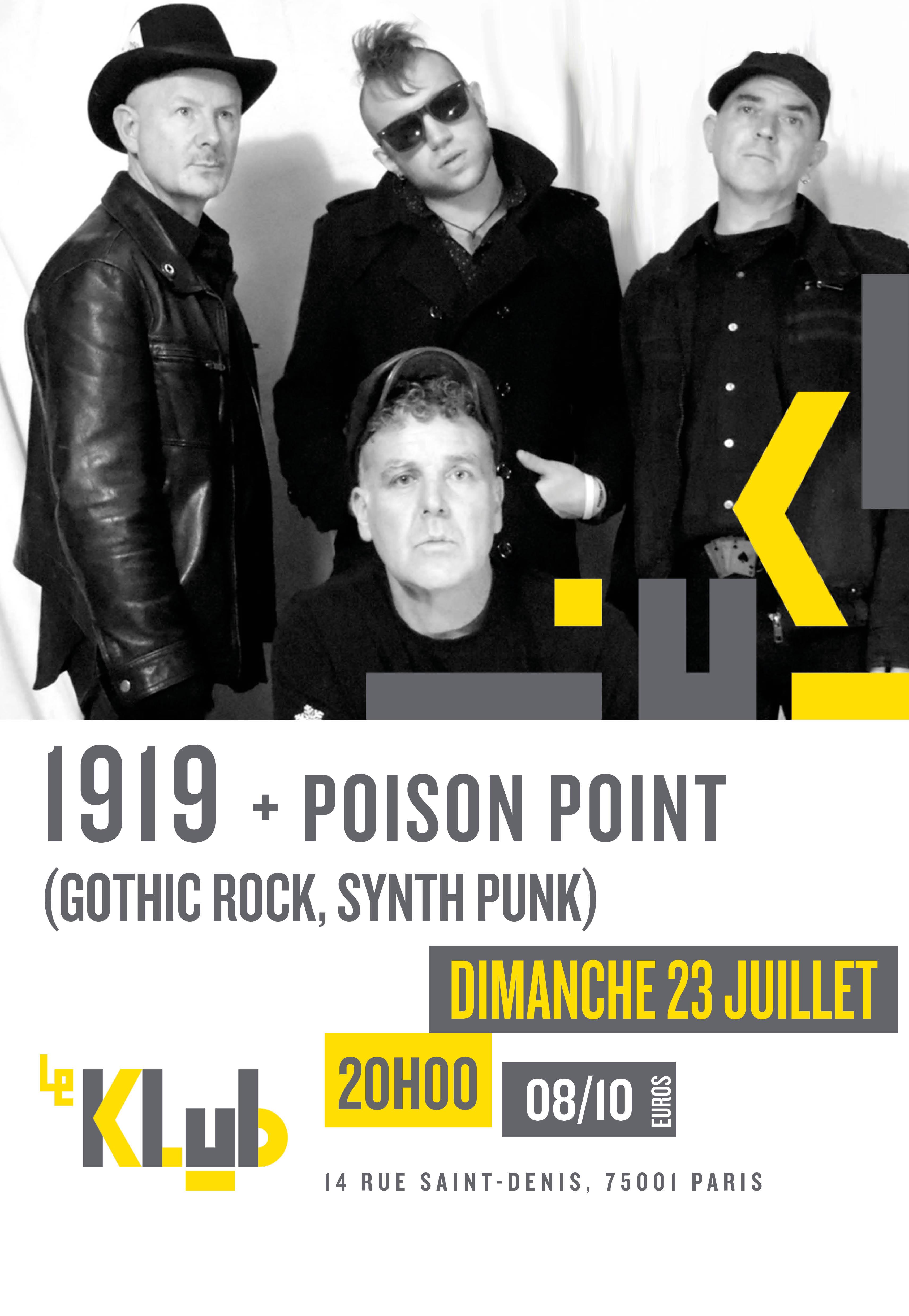 1919 + Poison Point ■ 23.07