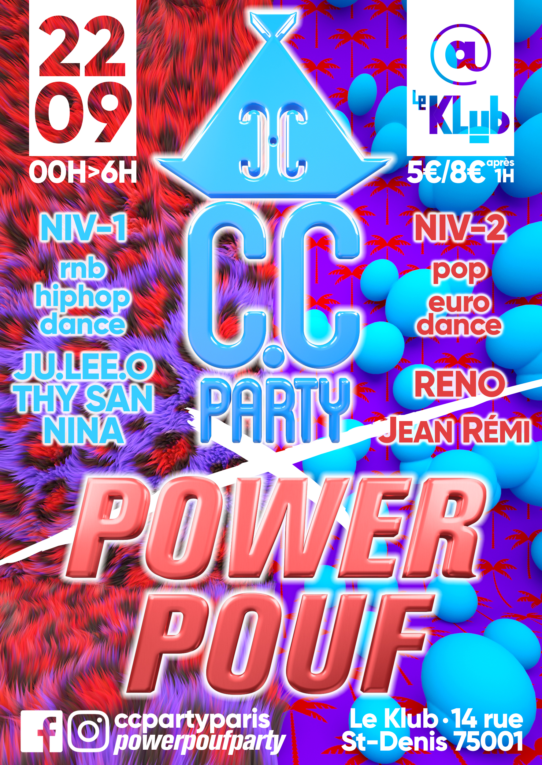 C.C PARTY vs. POWERPOUF