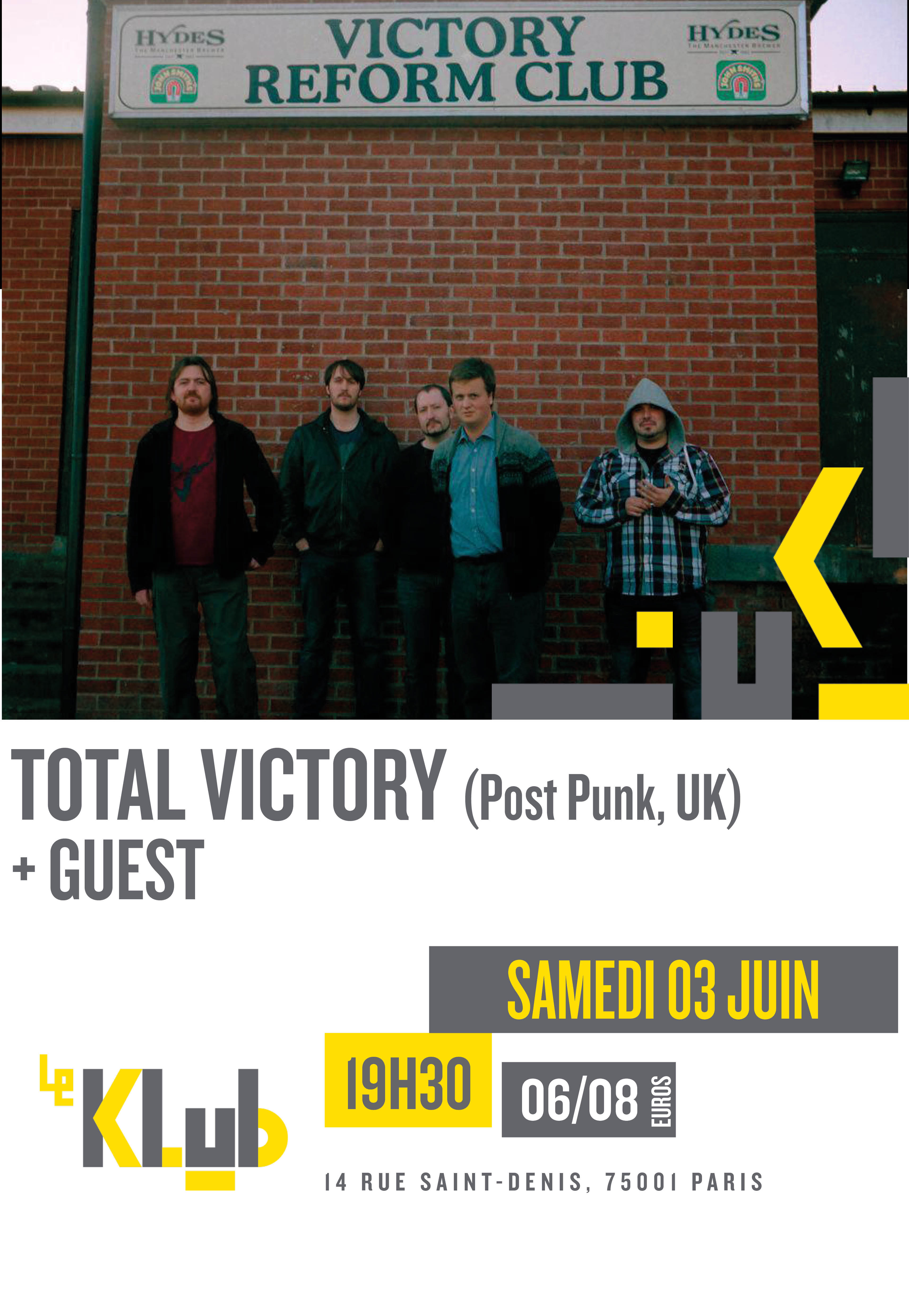 TOTAL VICTORY + GUEST ■ 03.06