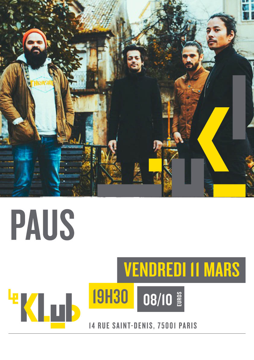 PAUS ■ LIVE ■ 11/03/16
