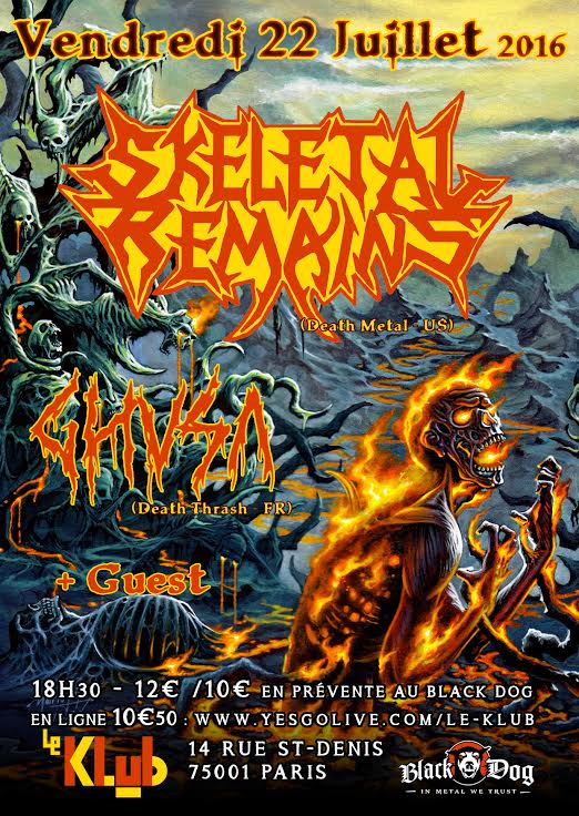 SKELETAL REMAINS + GHUSA + GUEST