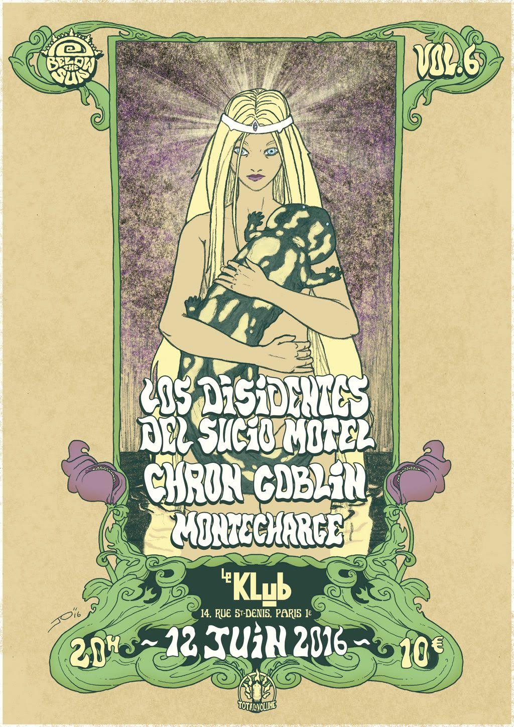 BELOW THE SUN #6 : LOS DISIDENTES DEL SUCIO MOTEL + CHRON GOBLIN + MONTECHARGE