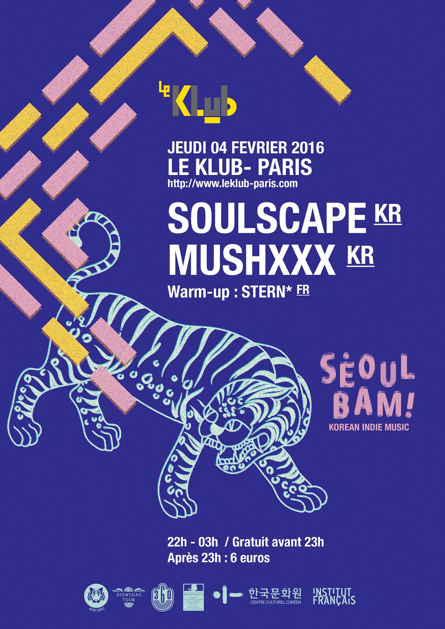 SEOUL BAM ! ■ DJ Party ■ 04-02-2016 ■23H00