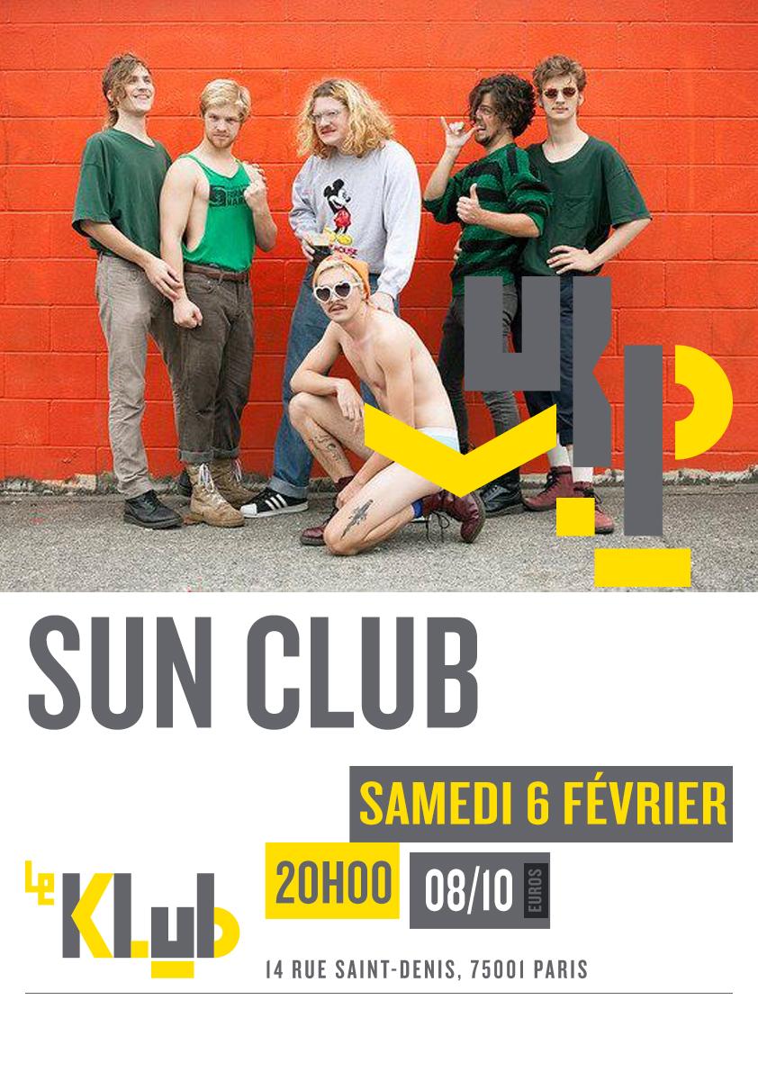 SUN CLUB ■ LIVE ■ 06-02-2016 ■20H00