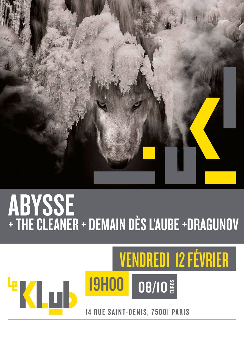 ABYSSE ■ LIVE ■ 12-02-2016 ■19H00
