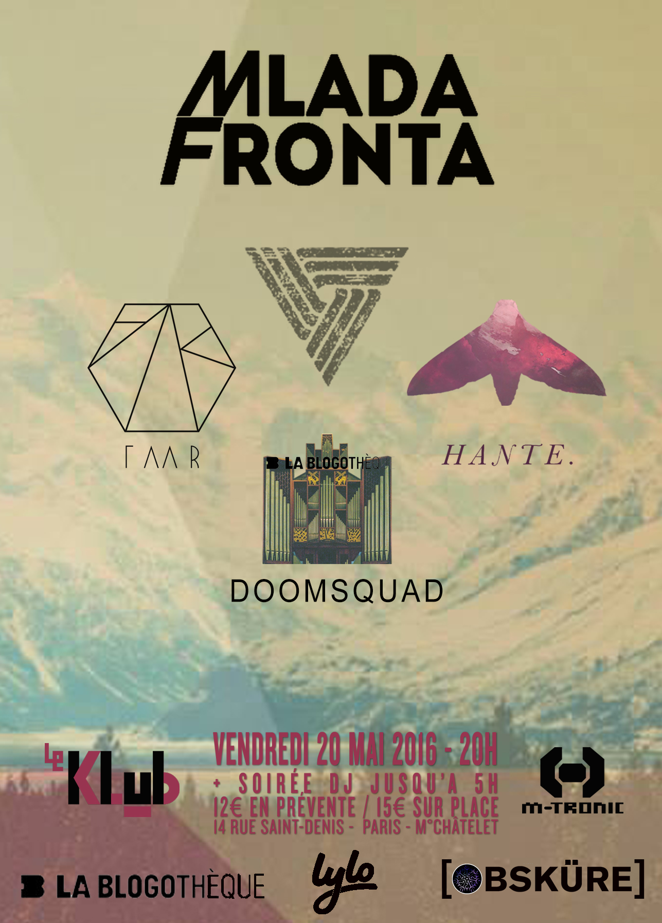 MLADA FRONTA + DOOMSQUAD + FAAR + HANTE