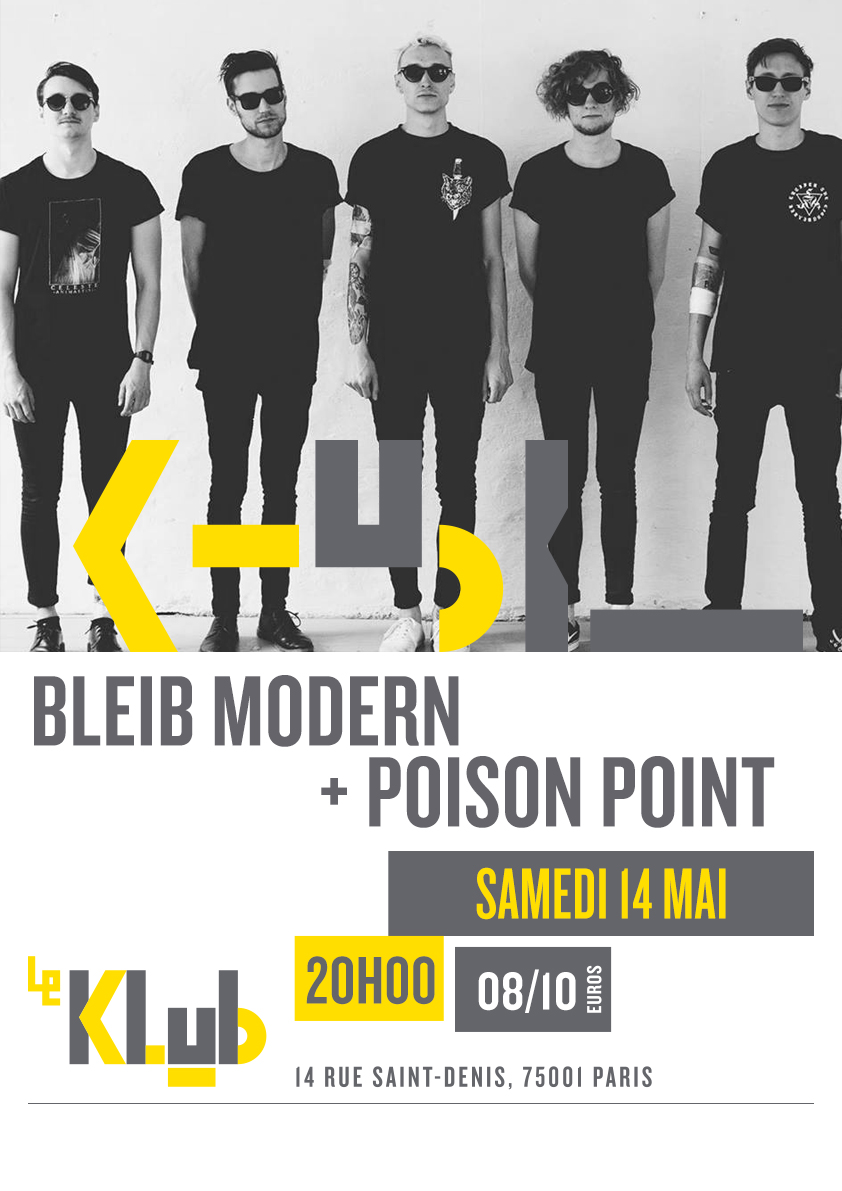 BLEIB MODERN + POISON POINT