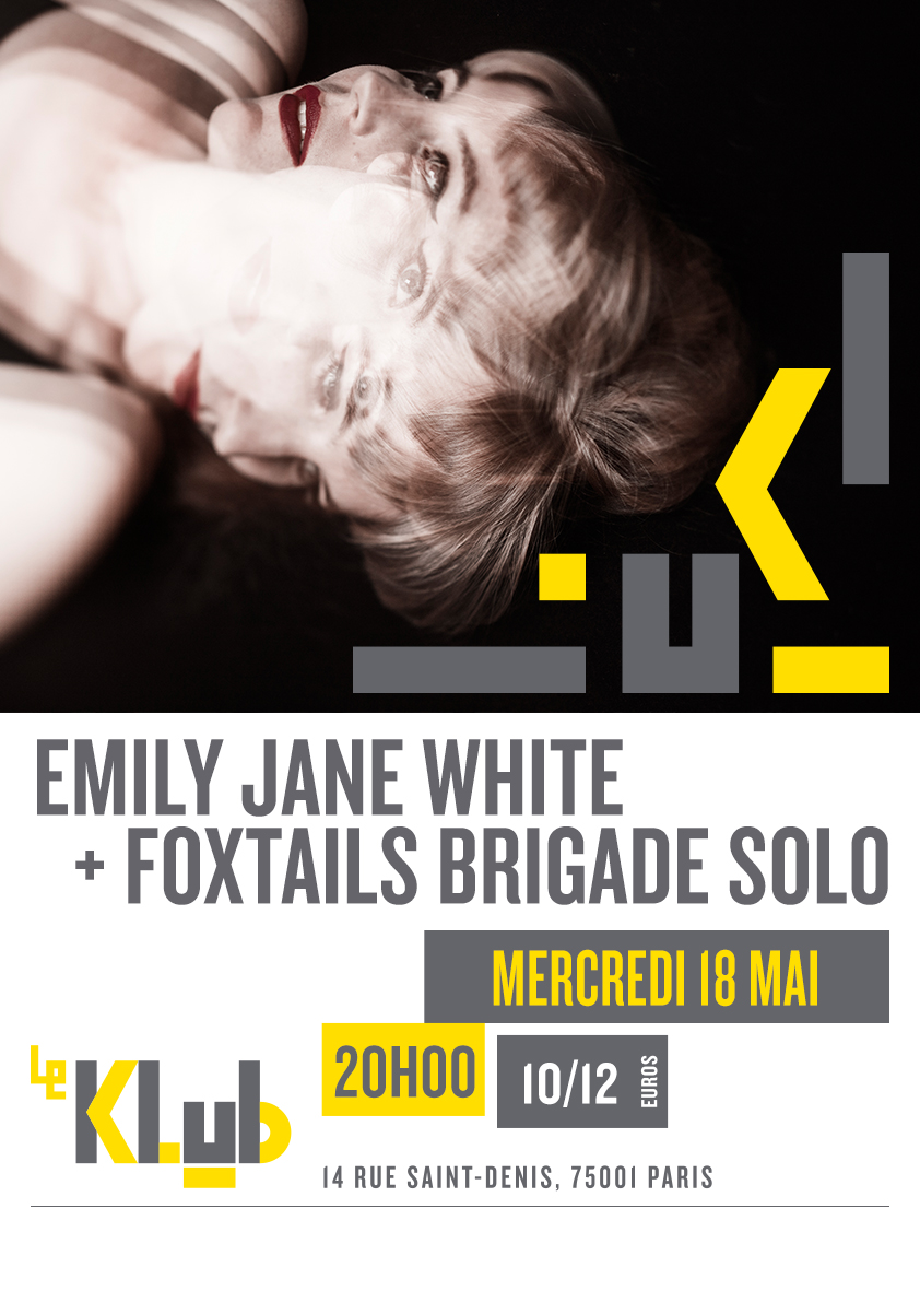 EMILY JANE WHITE + FOXTAILS BRIGADE SOLO