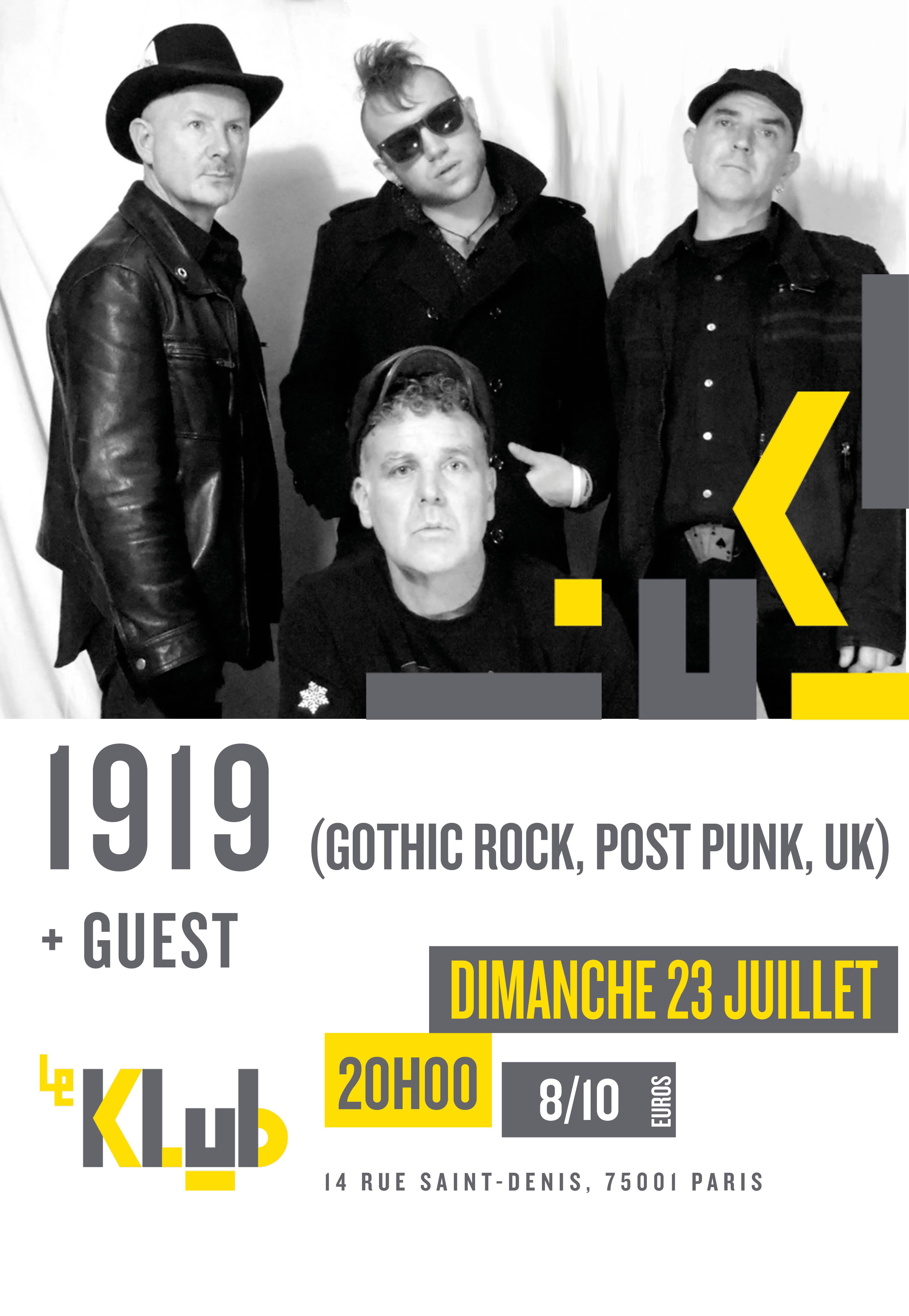 1919 + Guest ■ 23.07