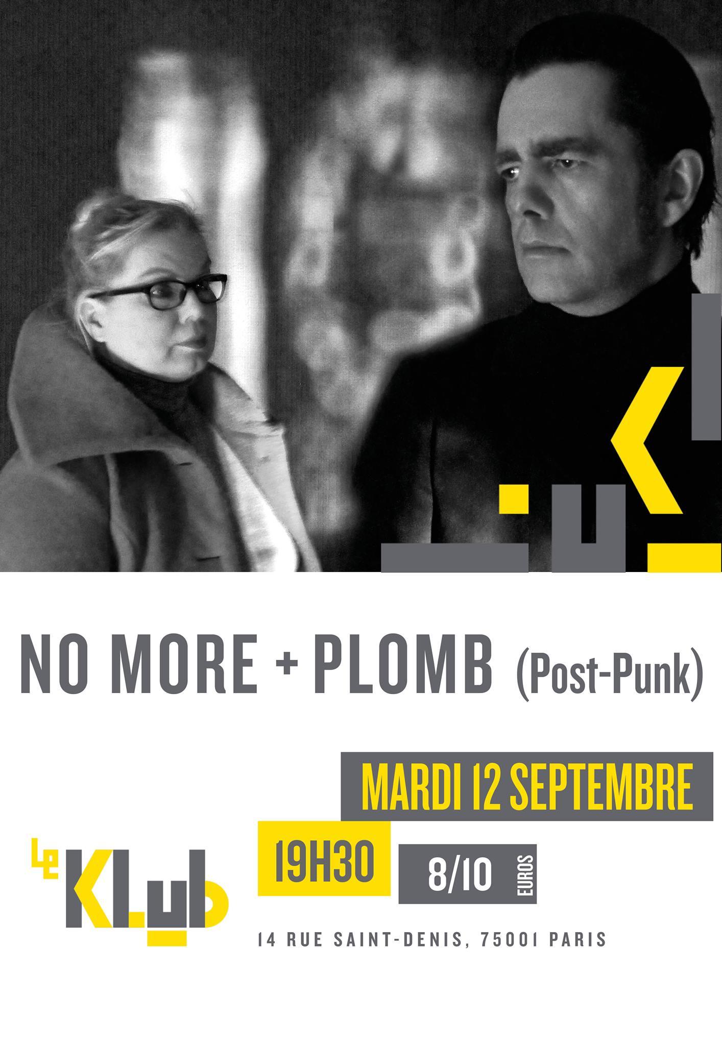 No MORE + PLOMB ■ 12.09
