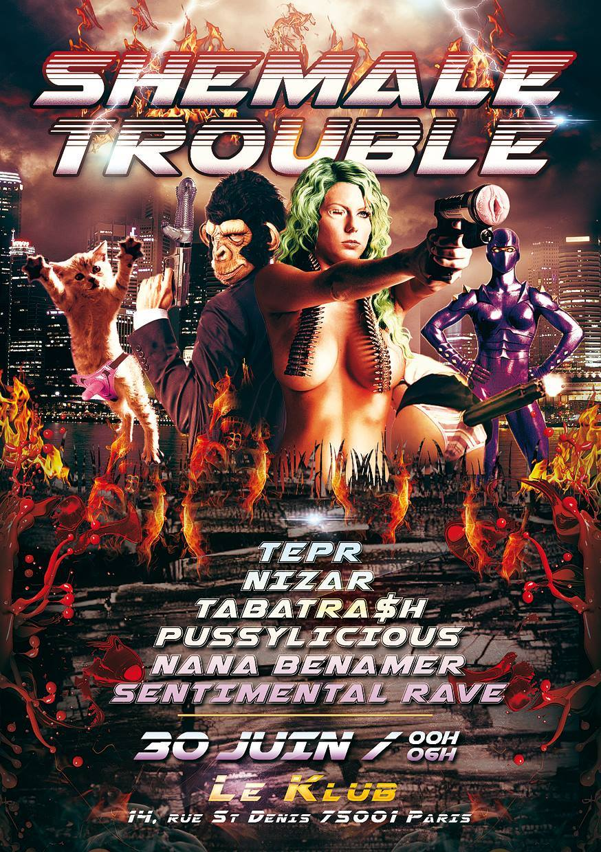 SHEMALE TROUBLE ■ 30.06