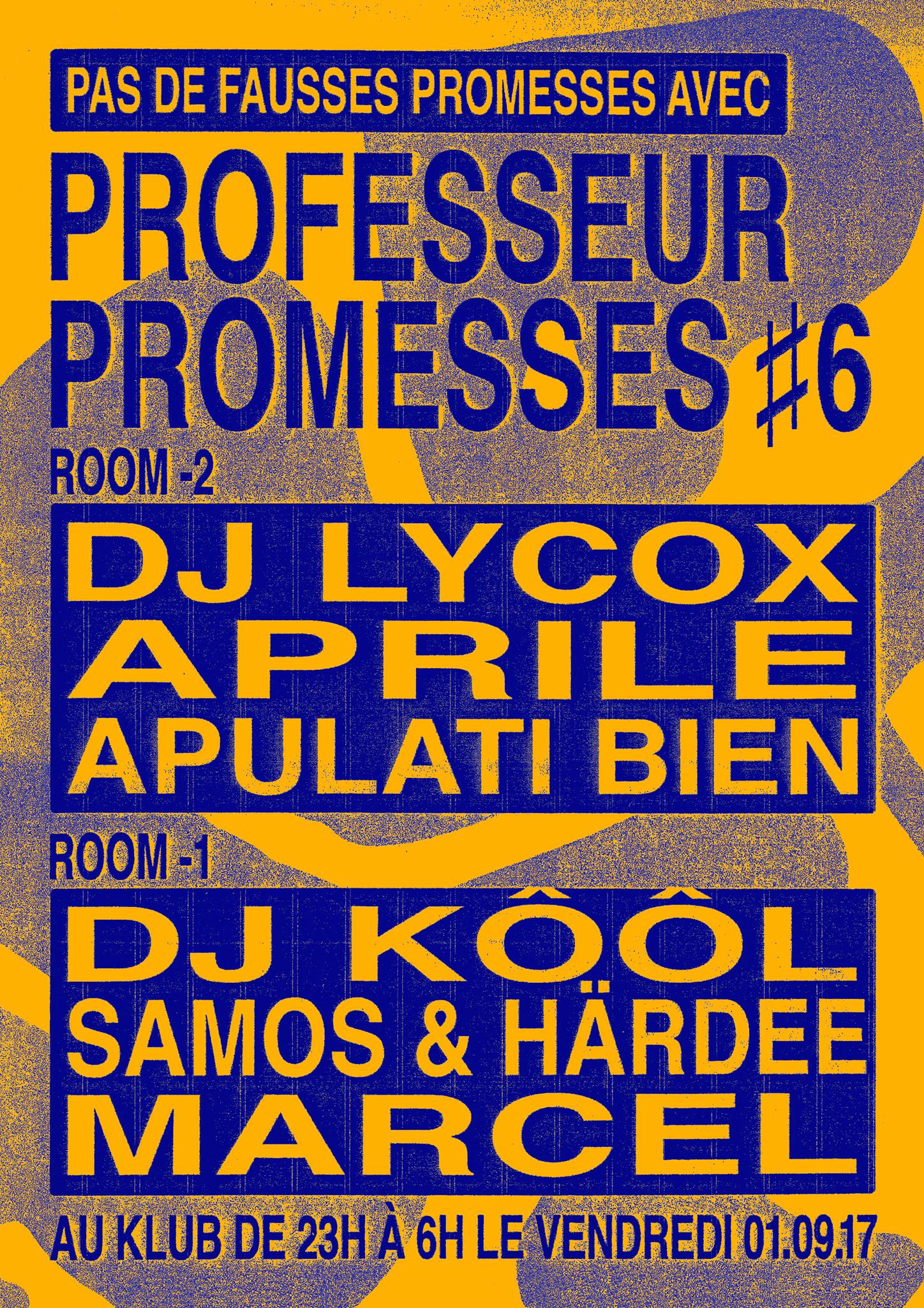 Professeur Promesses #6 ■ 01.09