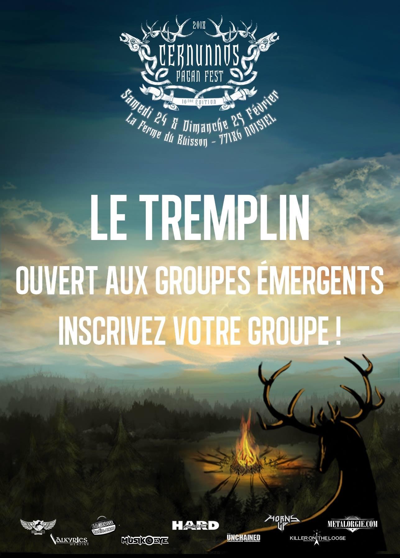 TREMPLIN CERNUNNOS 2018 ■ 14.01