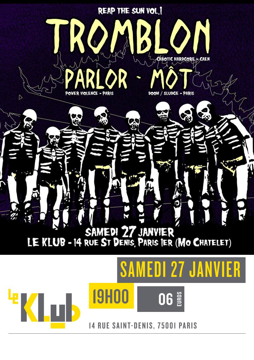 TROMBLON + PARLOR + MOT ■ 27.01