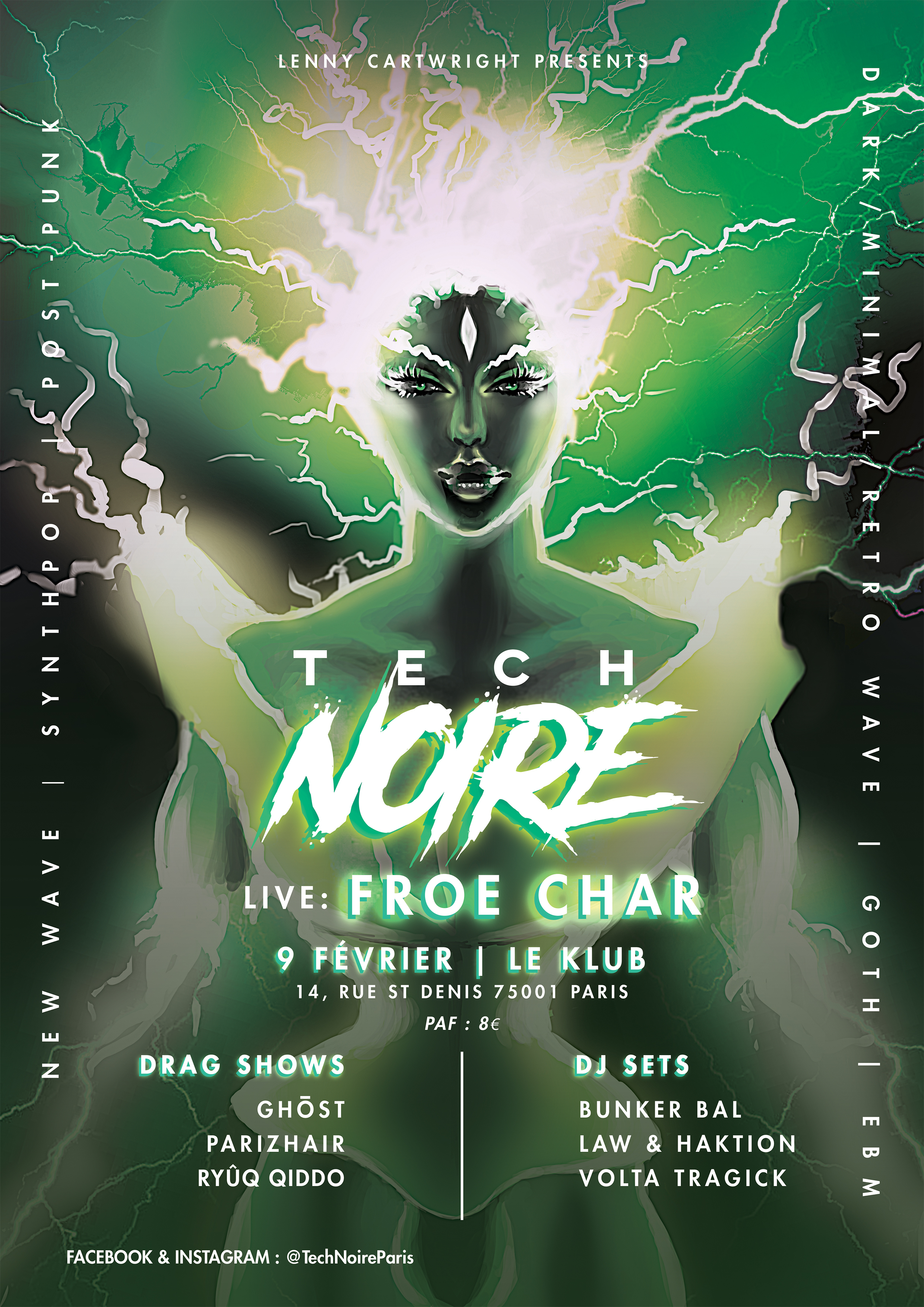 TECH NOIRE ft. FROE CHAR ■ 09.02
