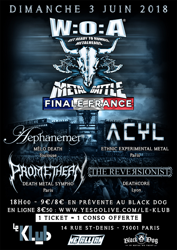 WACKEN METAL BATTLE ■ 03.06