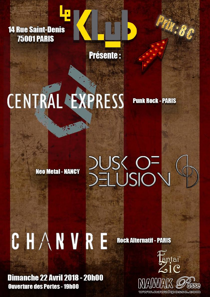 CHANVRE + DUSK OF DELUSION ■ 22.04