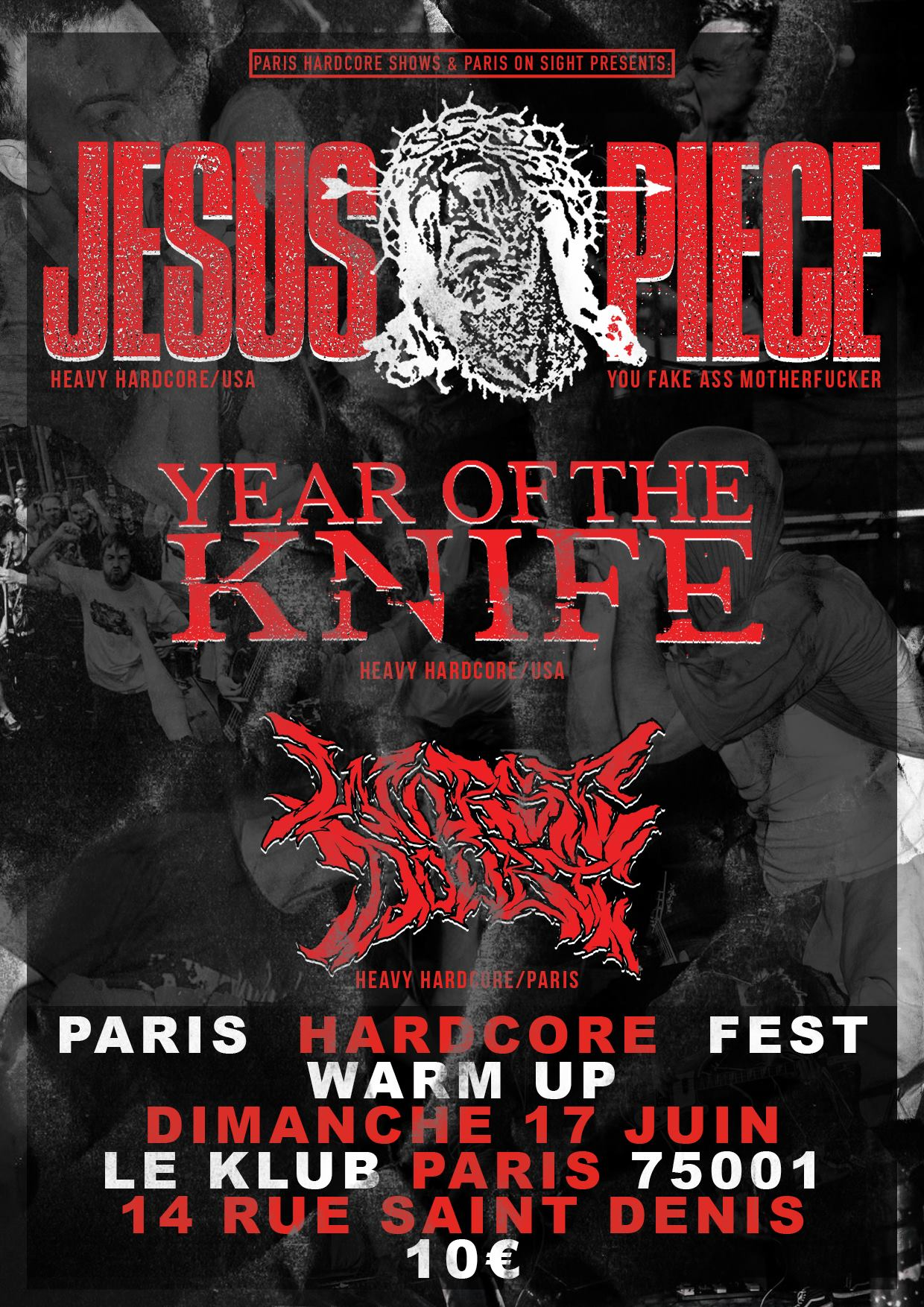 JESUS PIECE + YEAR OF THE KNIFE + WORST DOUBT ■ 17.06