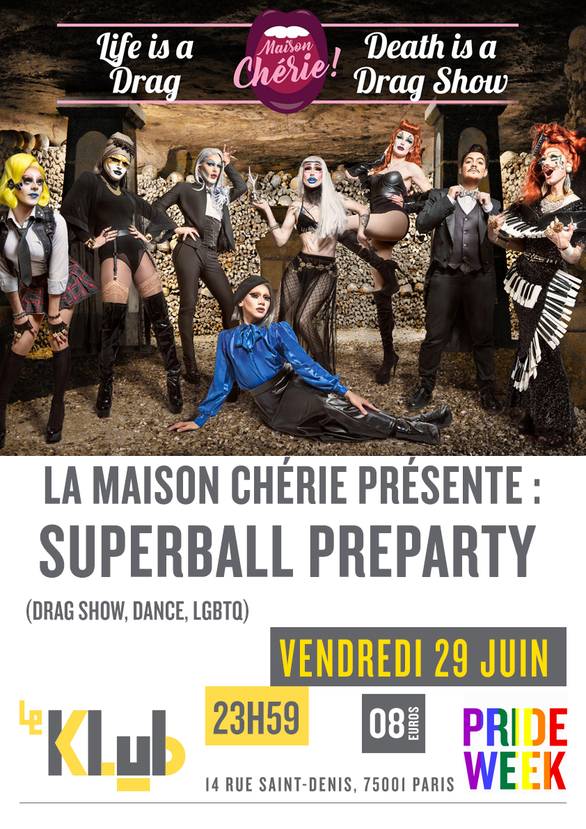 SUPERBALL PREPARTY ■ 29.06