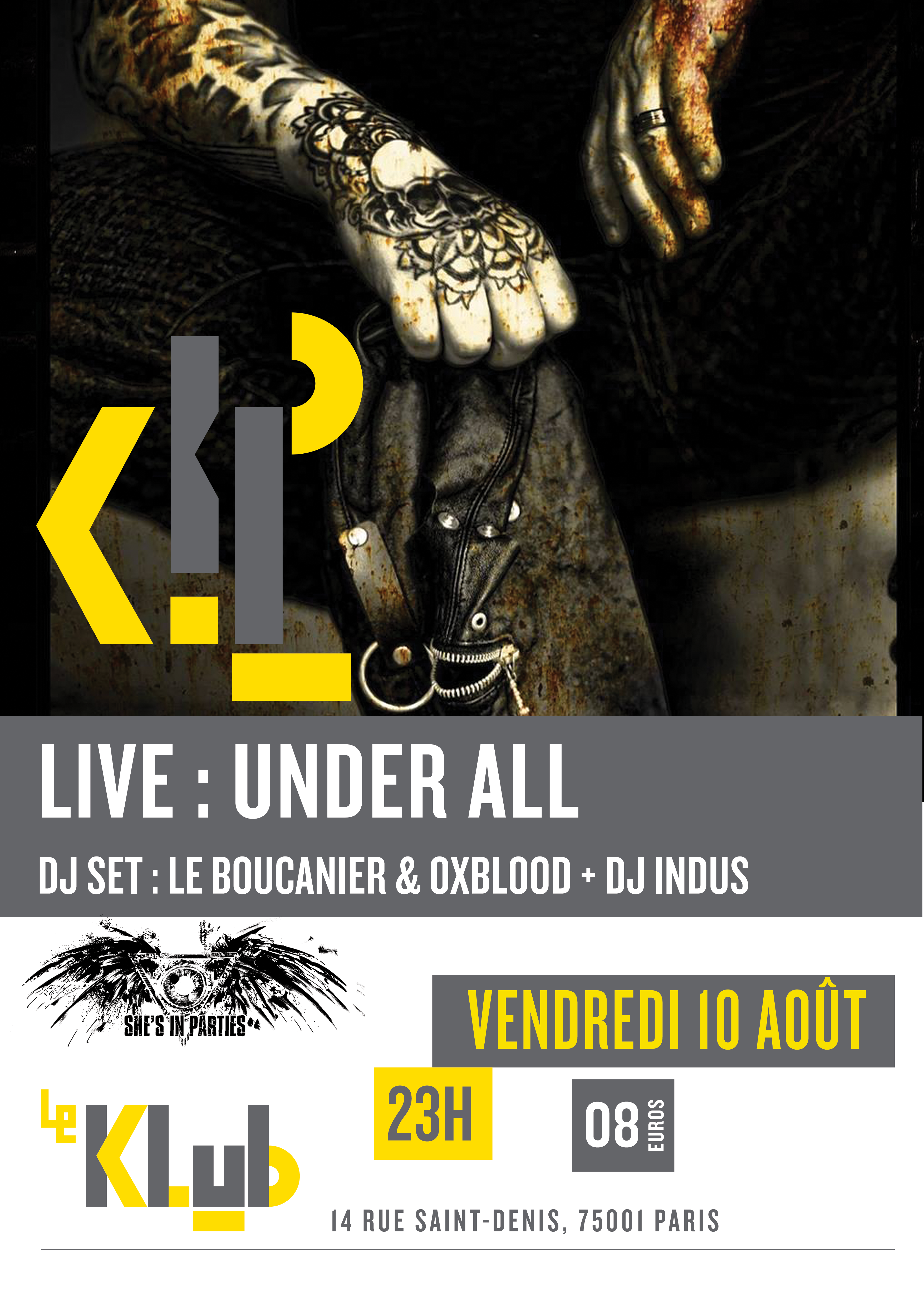 SUMMER SHE'S IN PARTIES #3 ■ 10.08 ■ LE KLUB