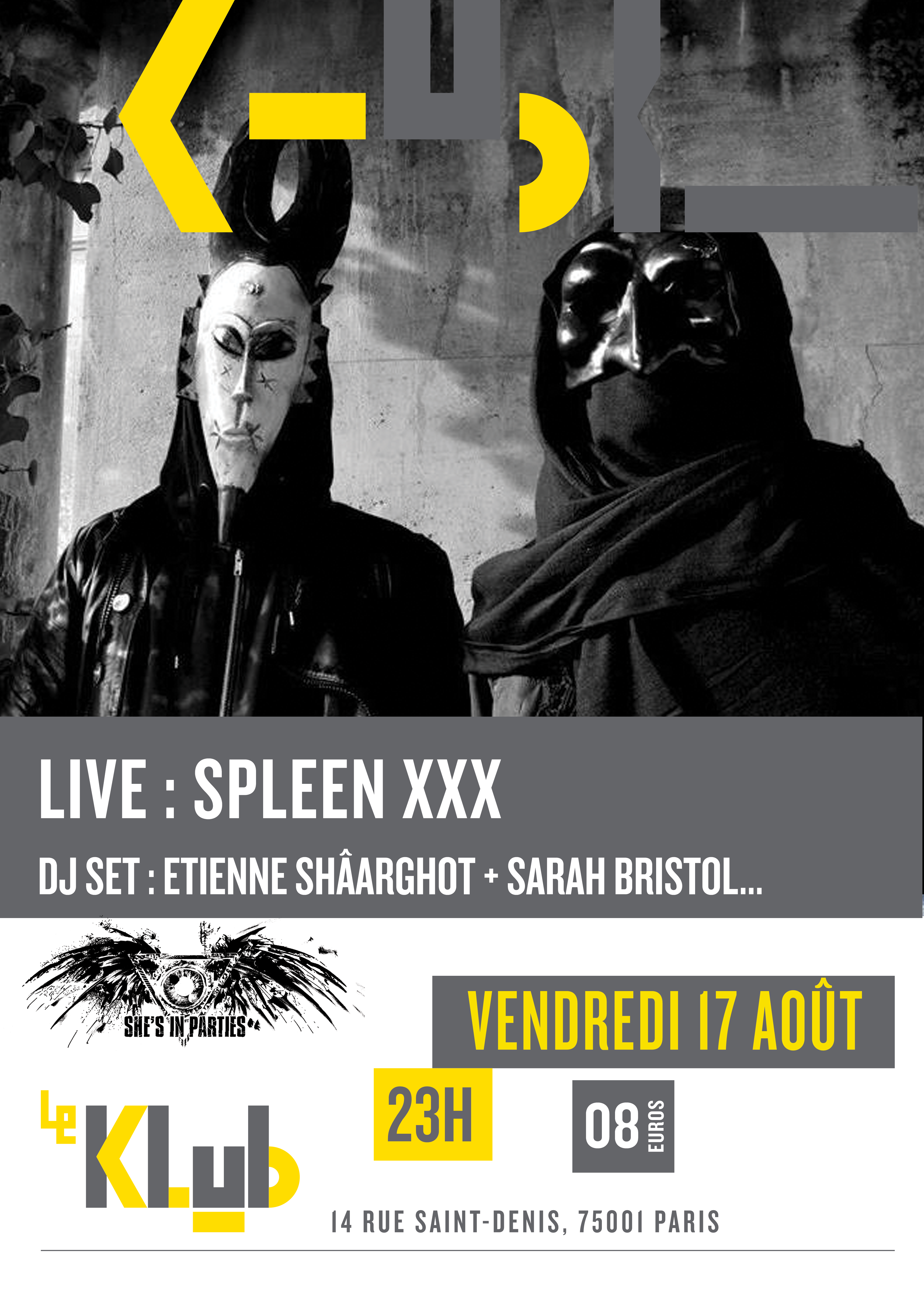 SUMMER SHE'S IN PARTIES #4 ■ 17.08 ■ LE KLUB