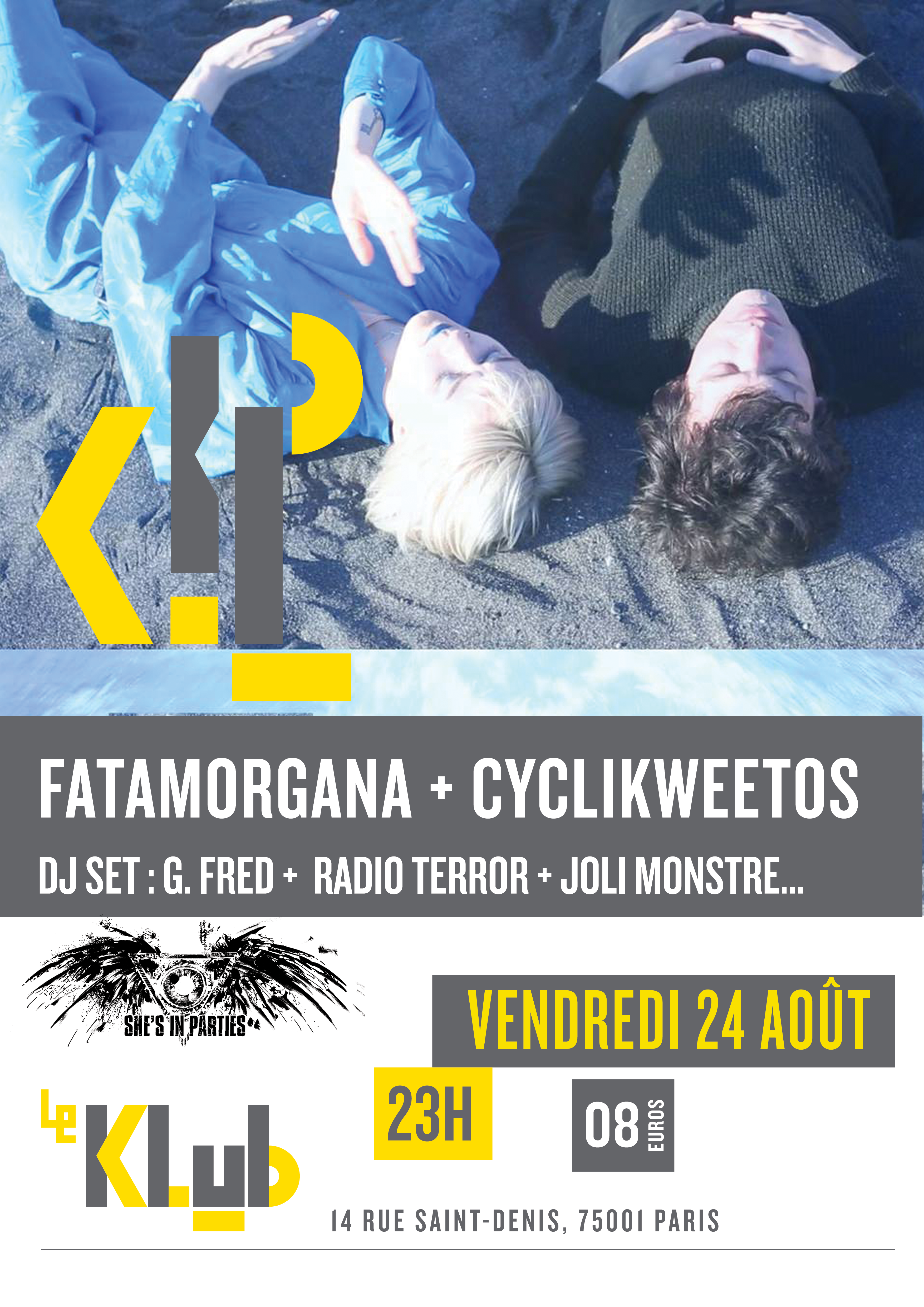 SUMMER SHE'S IN PARTIES #5 ■ 24.08 ■ LE KLUB
