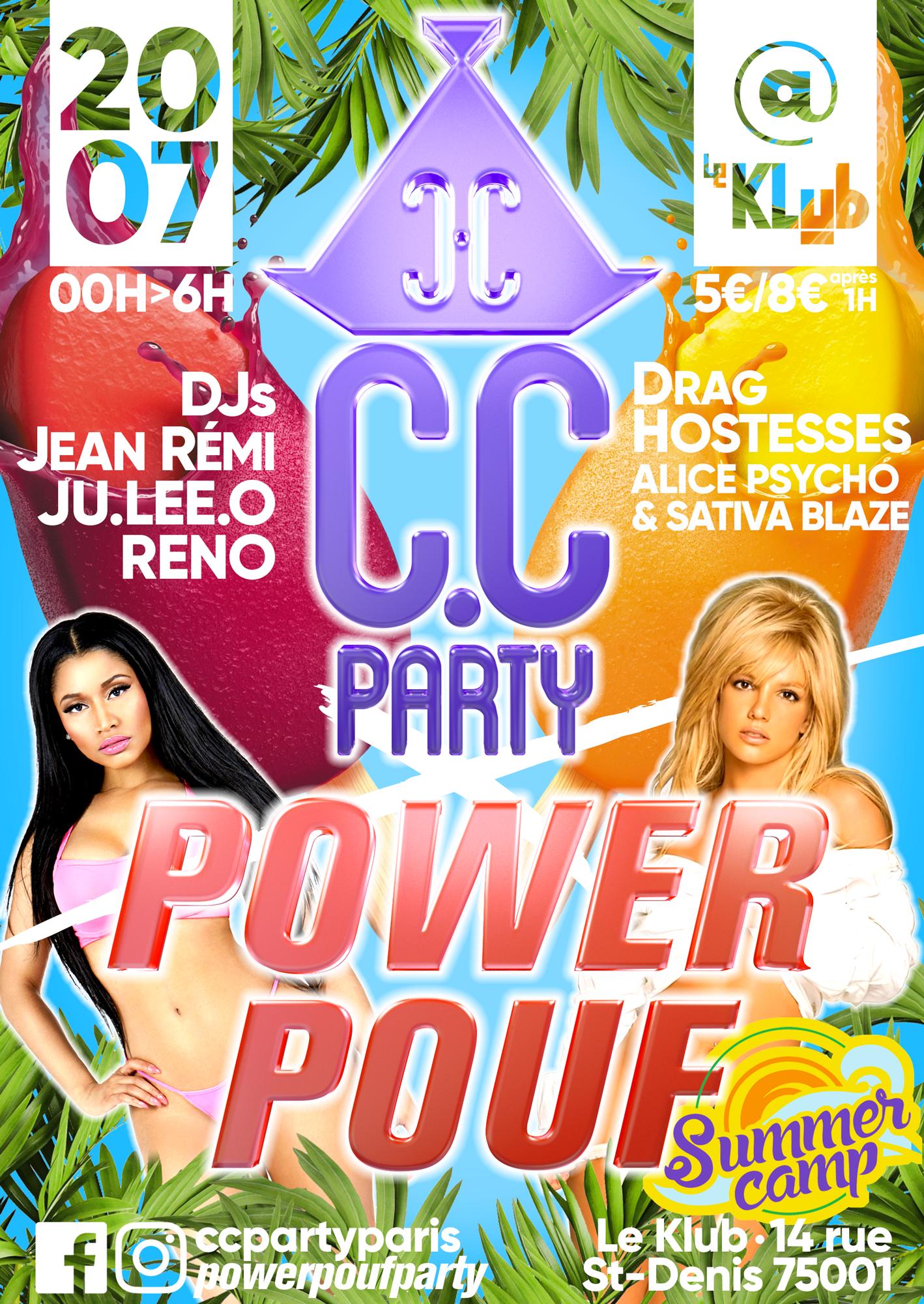 C.C Party X Power Pouf