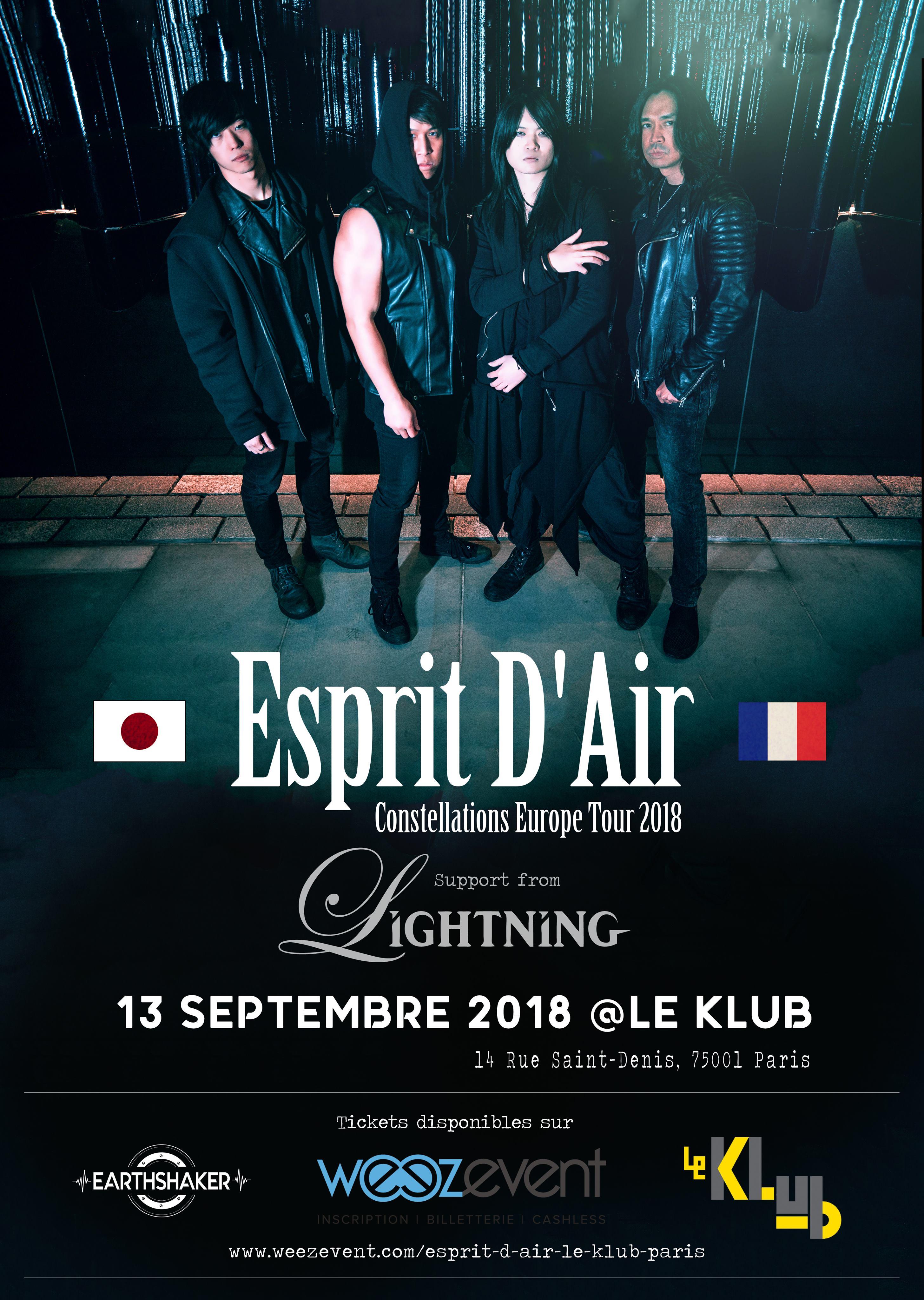 Esprit D'Air + Lightning ■ Le Klub