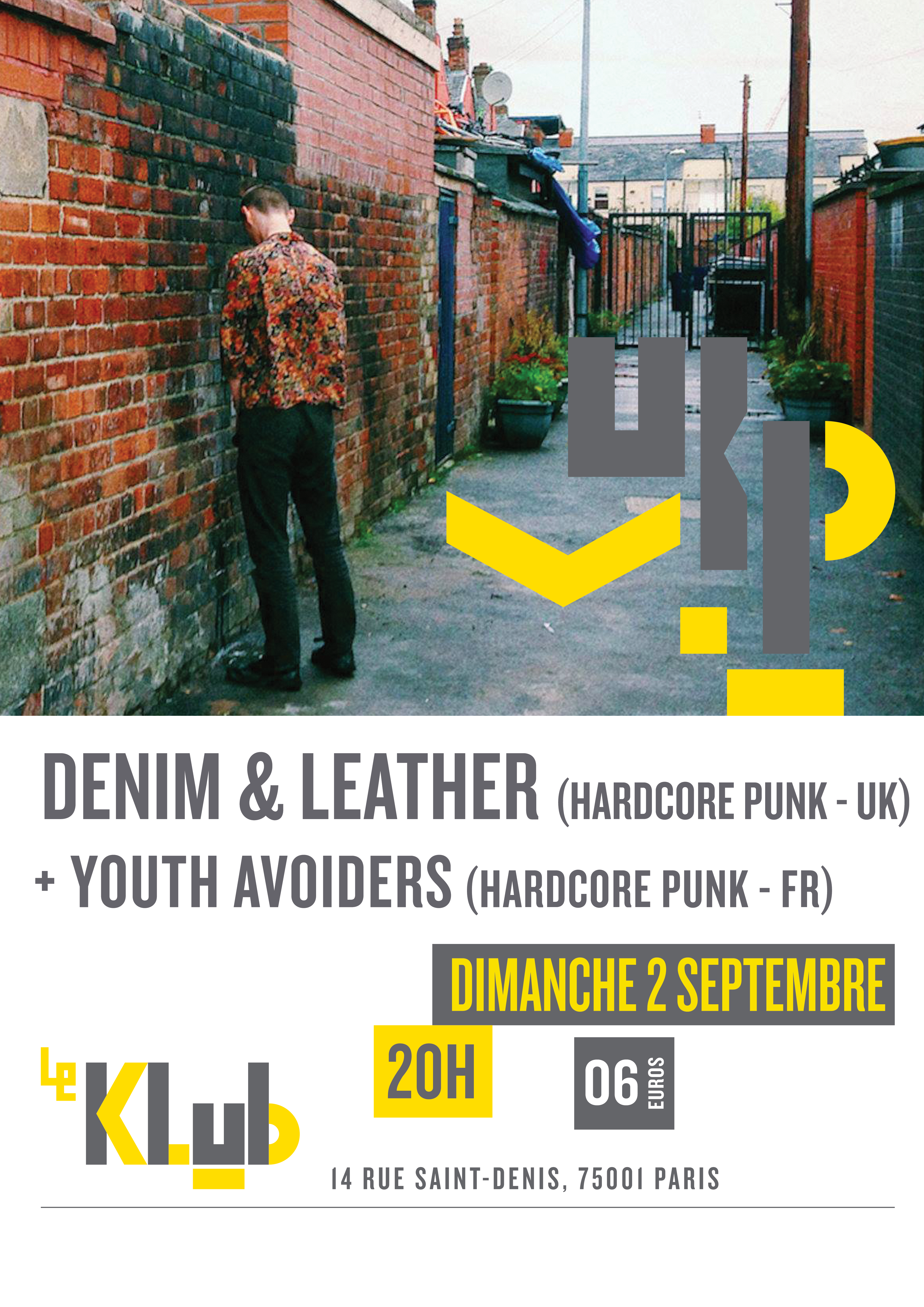 Denim & Leather + Youth Avoiders // 2-09