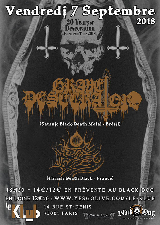 Grave Desecrator & Psychomanteum ■ 7-09