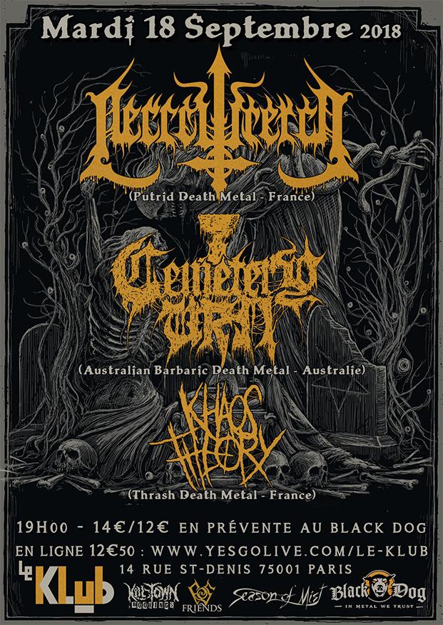 Necrowretch, Cemetery Urn & Khàos Theory ■ 18.09