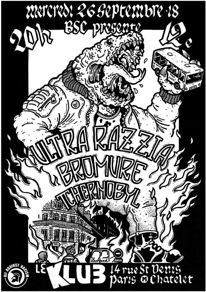 ULTRA RAZZIA + BROMURE + TSCHERNOBYL ■ 23.09