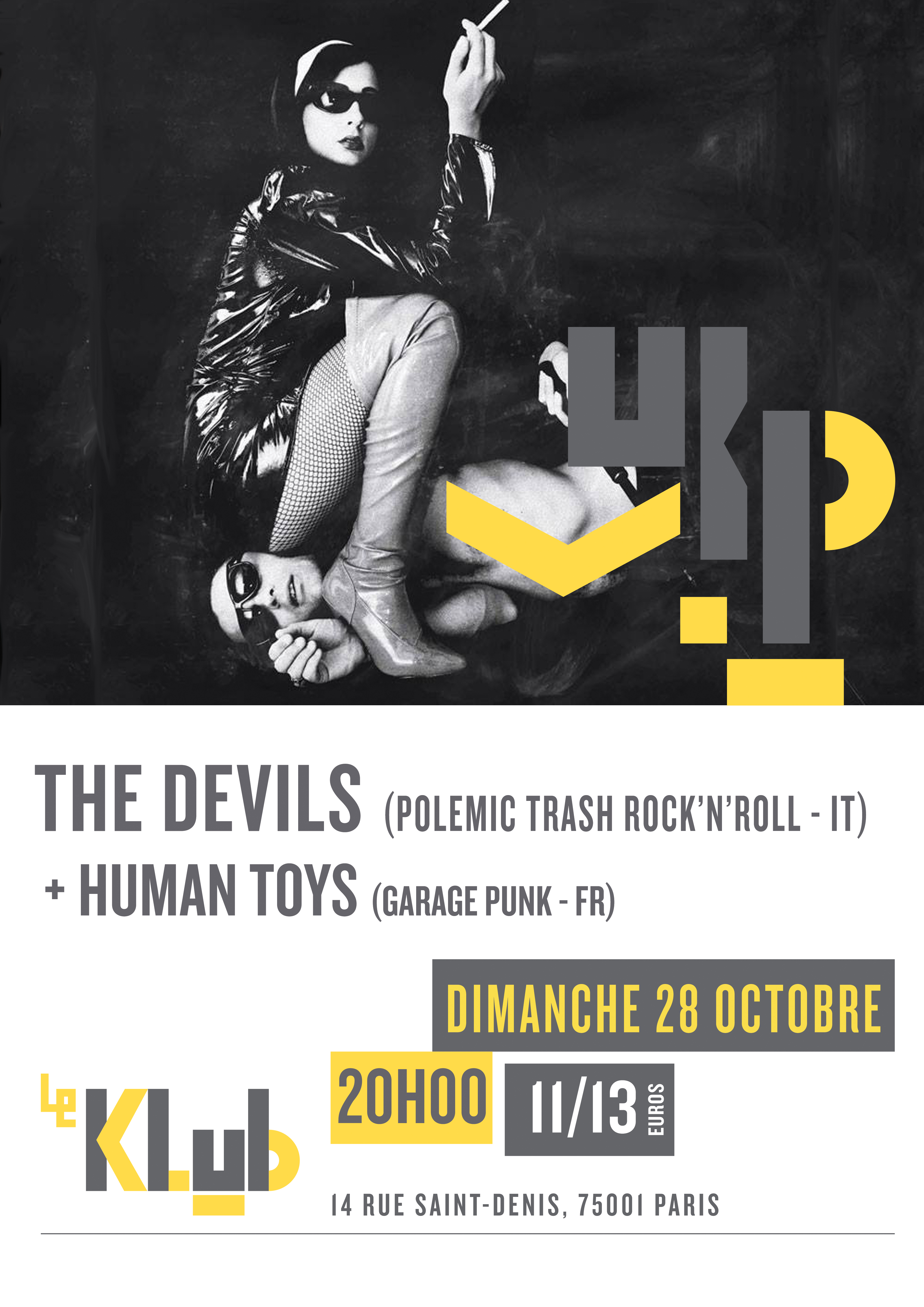 THE DEVILS + HUMAN TOYS ■ 28.10