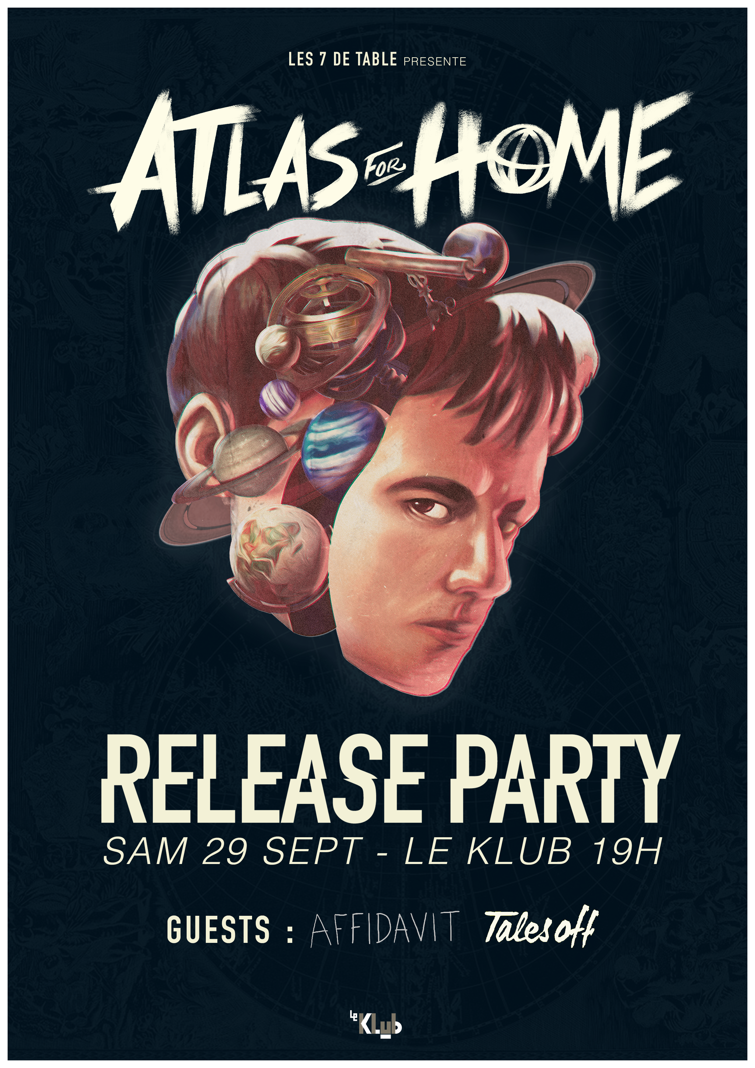 ATLAS FOR HOME RELEASE PARTY ■ 29.09