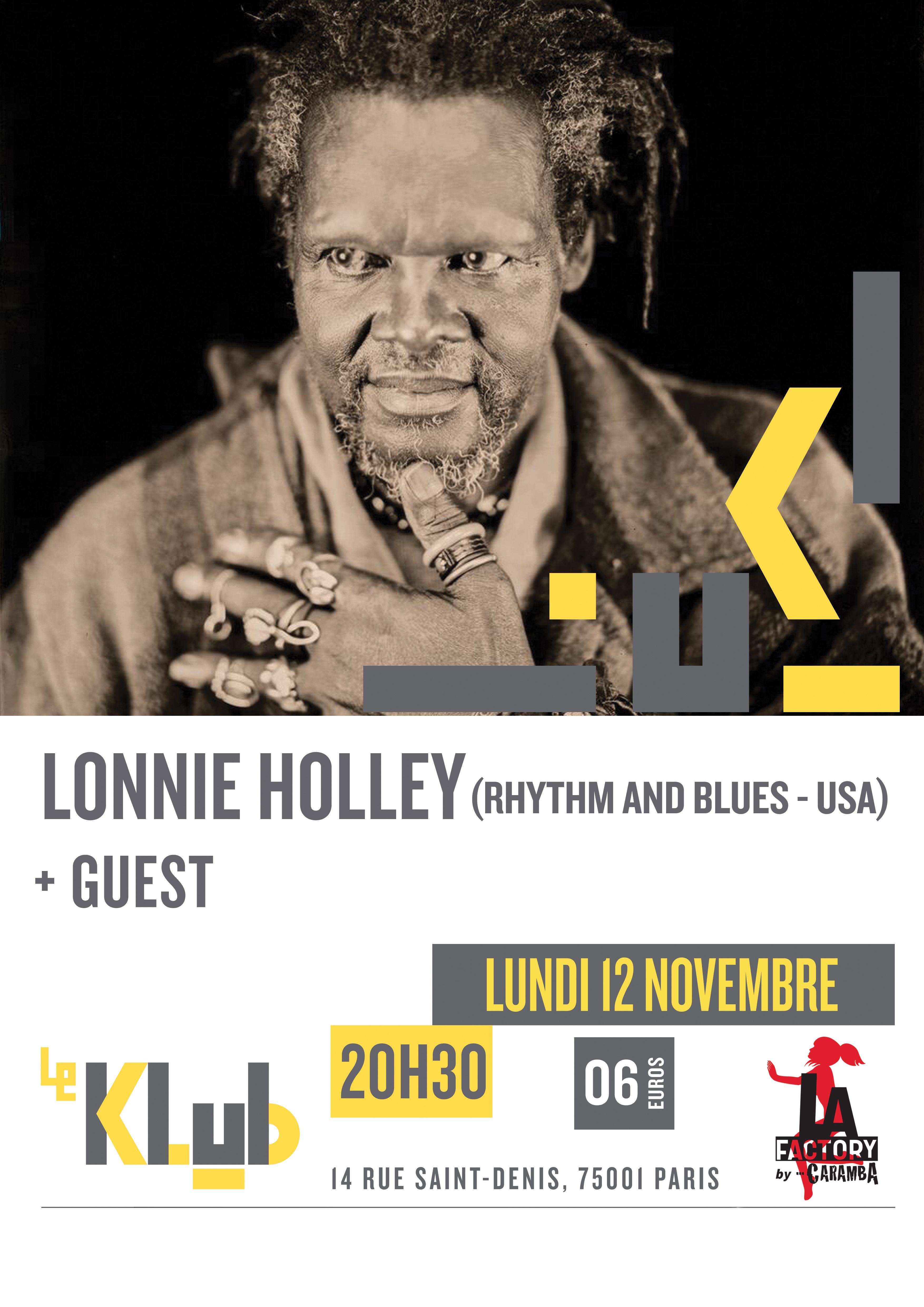 LONNIE HOLLEY ■ 12.11