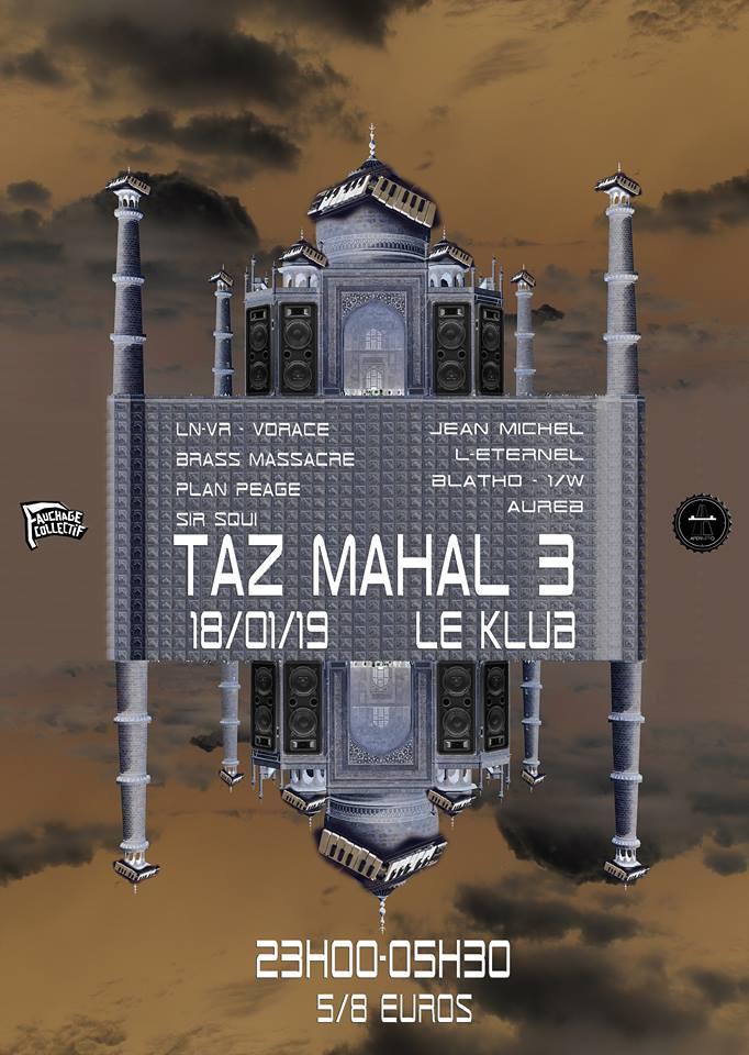 TAZ MAHAL #3 // 18.01