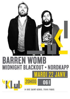 BARREN WOMB ■ 22.01